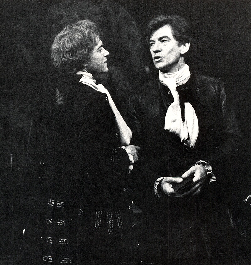 Javier (Michael Pennington) and Pierre (Ian McKellen)<br><em> </em>