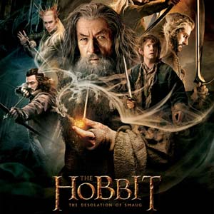 Official poster for The Hobbit: The Desolation of Smaug