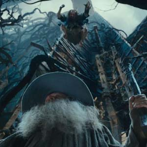 Ian McKellen is Gandalf in The Hobbit