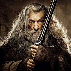 German Gandalf character poster for The Hobbit: The Desolation of Smaug
