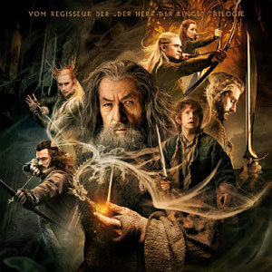 German Official poster for The Hobbit: The Desolation of Smaug