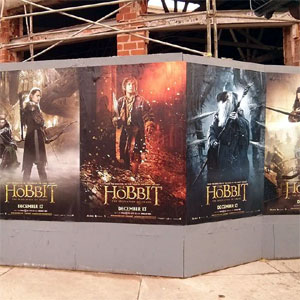 Wild postngs in Los Angeles for The Hobbit