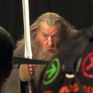 2011, THE HOBBIT: At Stone Street Studios