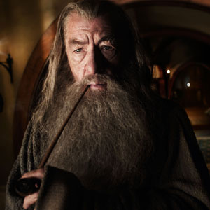 2011, THE HOBBIT: As Gandalf the Grey