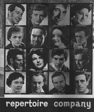 The Belgrade Theatre Company (from festival programme)<br /><i> </i>