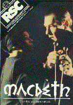 1976, MACBETH: Poster from the RSC production