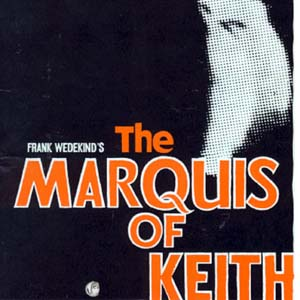 1974, THE MARQUIS OF KEITH: Programme Cover