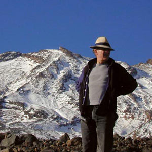 On the slopes of Mt. Ruapehu, May 2000