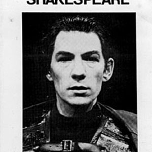 Programme (photo of Ian McKellen as Macbeth)