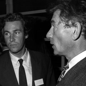 1990s,   H.R.H. Prince Edward [Patron], Simon Dutton [ex-member], Ian McKellen [Vice Chairman] at fundraiser for National Youth Theatre of Great Britain