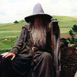 2001, THE LORD OF THE RINGS: THE FELLOWSHIP OF THE RING: On the road to Hobbitton