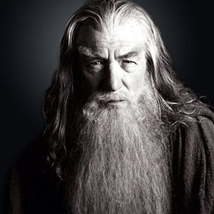 2001, THE LORD OF THE RINGS: THE FELLOWSHIP OF THE RING: Gandalf the Grey  - Photo by Pierre Vinet