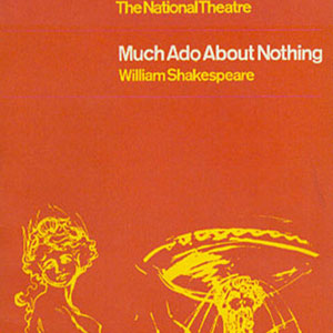 1965, MUCH ADO ABOUT NOTHING (1965): Programme Cover
