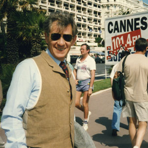 1993,   La Croisette, at the Cannes Festival, trying to raise funding for the film RICHARD III