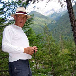 Ian McKellen, September 2002: Nairn Falls, British Columbia