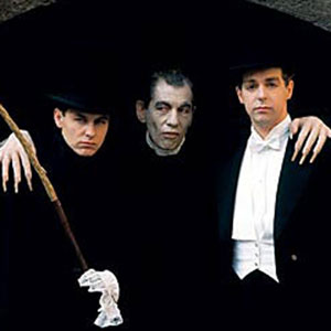 1990s,   With Pet Shop Boys, as Dracula in the video for Heart