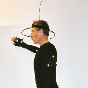 2000, THE LORD OF THE RINGS: THE FELLOWSHIP OF THE RING: On the motion capture stage