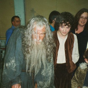 2000, THE LORD OF THE RINGS: THE FELLOWSHIP OF THE RING: Gandalf the Grey