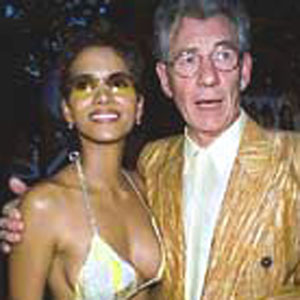 With Halle Berry at the Ellis Island Premiere