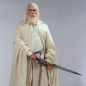 Gandalf the White, captured in Pierre Vinet