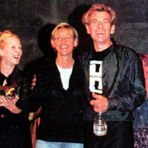 Anne Heche and Ellen Degeneres at birthday celebration, 25 May