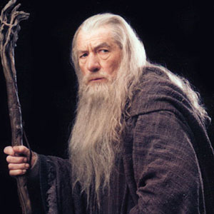 2001, THE LORD OF THE RINGS: THE FELLOWSHIP OF THE RING: Gandalf the Grey