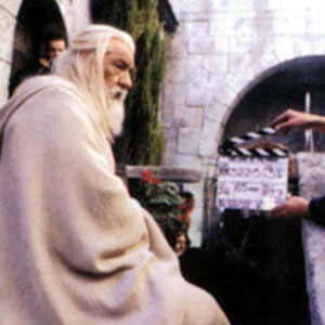2003, THE LORD OF THE RINGS: RETURN OF THE KING: On the set