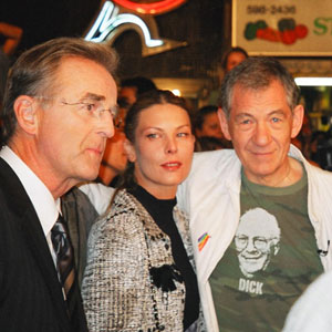 2003, EMILE: Deborah Kara Unger and Ian McKellen, Toronto Film Festival, September 2003  - Photo by Clair Cooper