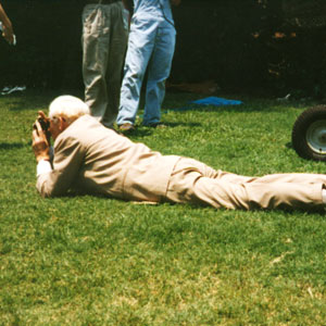 1997, GODS AND MONSTERS: On location in Pasadena