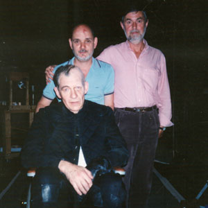 1992, RICHARD III (US Tour): Washington, DC with John Handy and Stage Manager