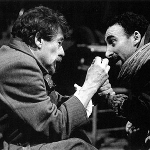 1992, UNCLE VANYA: With Antony Sher  - Photo by Mark Douet