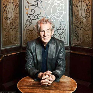 Ian McKellen at The Grapes. Photo by Adrian Lourie.
