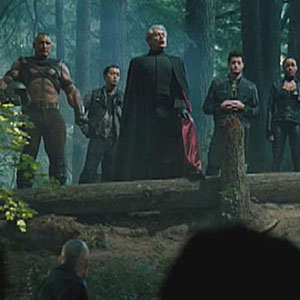 2005, X-MEN: THE LAST STAND: Magneto and Mutants gathering