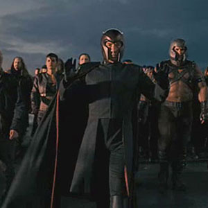 2005, X-MEN: THE LAST STAND: Magneto and fellow mutants