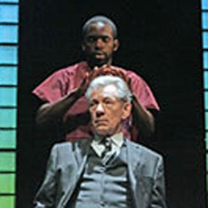2006, THE CUT: Jimmy Akingbola and Ian McKellen  - Photo by Alastair Muir