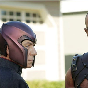 2006, X-MEN: THE LAST STAND: Magneto and Juggernaut