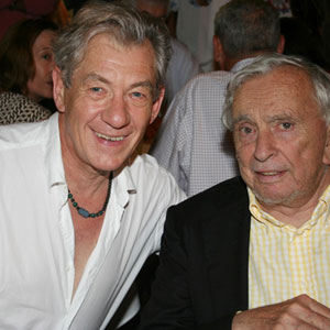 2006, A KNIGHT OUT IN LOS ANGELES (2006): With Gore Vidal, post-show  - Photo by Richard Swaidan