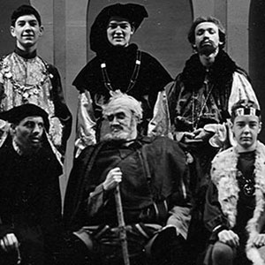 Cast (Ian McKellen upper left)