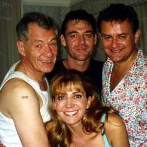 2003, ASYLUM: With Marton Csokas, Hugh Bonneville, and Natasha Richardson