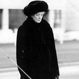 1995, RICHARD III: Maggie Smith as the Duchess of York  - Photo by Alex Bailey