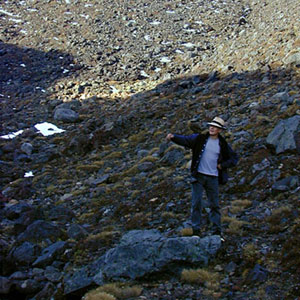 On the slopes of Ruapehu, May 2000